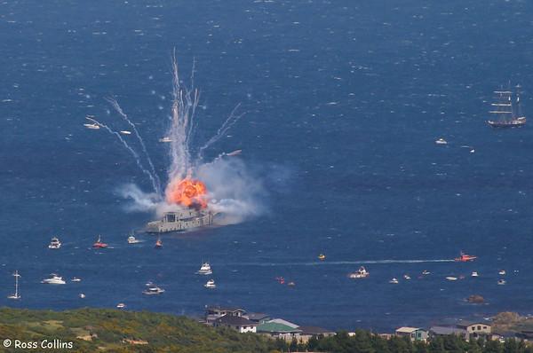 Sinking of HMNZS Wellington 2005