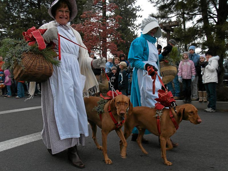 Sisters Christmas Festivities 2007