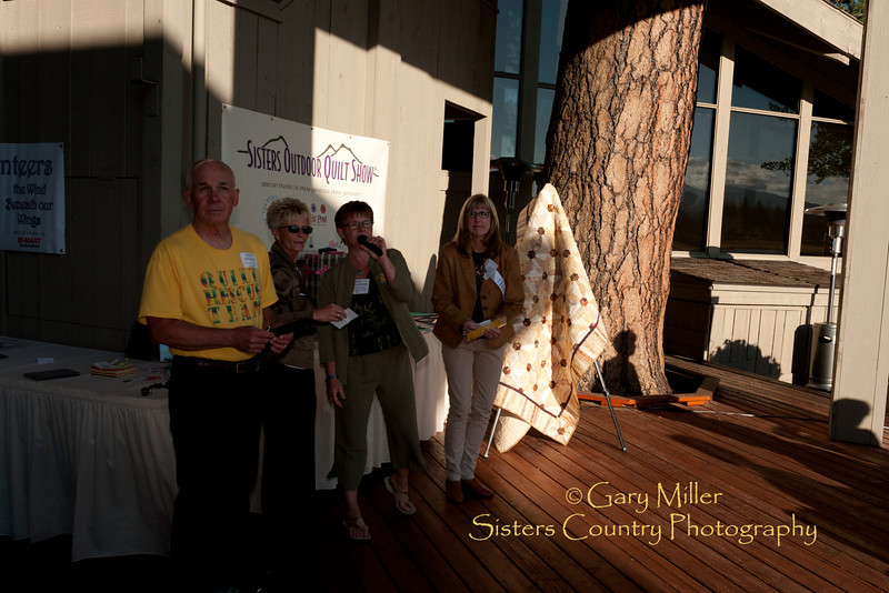 Quilt Show 2011 Volunteer Appreciation Party - Photo by Gary N. Miller - Sisters Country Photography