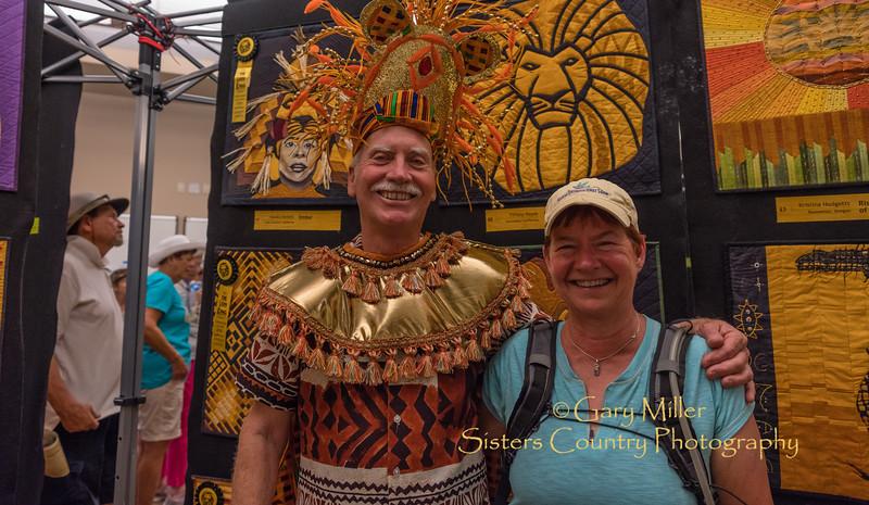 Jeff Omodt and Ann Richardson