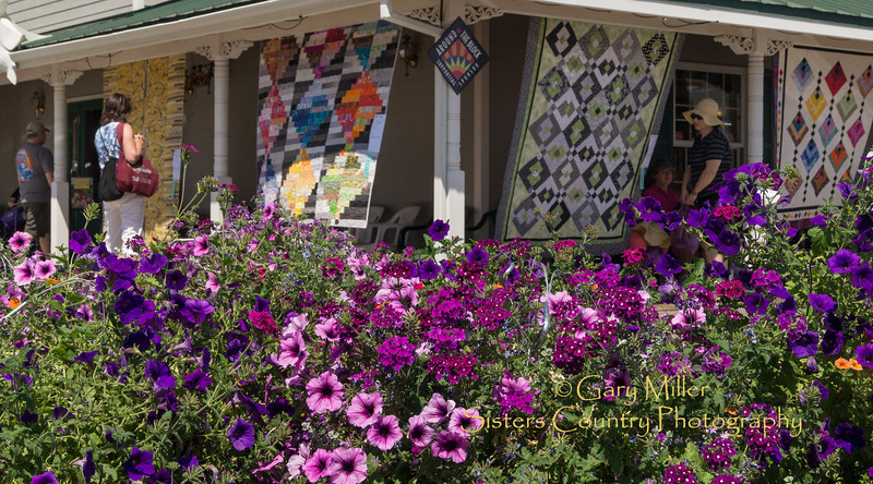 Sisters Outdoor Quilt Show - Sisters, Oregon on July 14, 2012 - Gary N. Miller - Sisters Country Photography