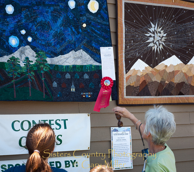 Sisters Outdoor Quilt Show 2010 - Gary Miller - Sisters Country Photography