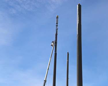 Perpective on height of Rodeo Flag poles