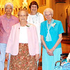 Submitted photo<br /> Marking 70 years with the religious order in Oldenburg are (front row from left) Sisters Timothy Kavanaugh, Irene Hoff, Marta Aiken and Kathleen McCarthy; (back row) Sisters Claire Whalen and Virginia Van Benten.