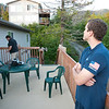 Bryan and I relaxed on the veranda chatting with Rick