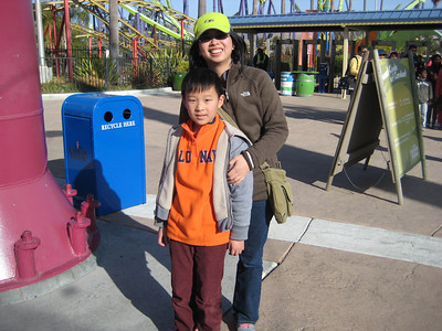 Six Flags Discovery Kingdom (Dec 2013)