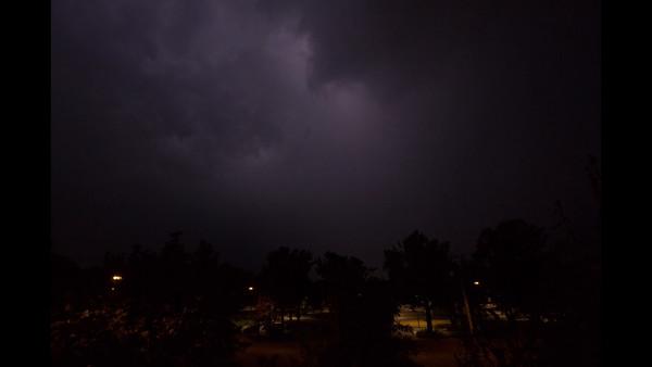 Lightning over Nuremberg, July 2015