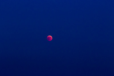 Bloodmoon - totale Mondfinsternis am 27. Juli 2018