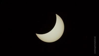 partielle Sonnenfinsternis, penumbral solar eclipse