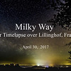 another Timelapse over Lillinghof (April 30, 2017)