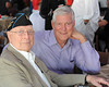 """SKY BALL 2013<br /> MEDAL OF HONOR RECIPIENT HERSHEL """"WOODY""""  WILLIAMS,USMC, Battle of Iwo Jima, February 23, 1945, with USAF RETIRED GENERAL MYERS, JOINT CHIEFS OF STAFF"""