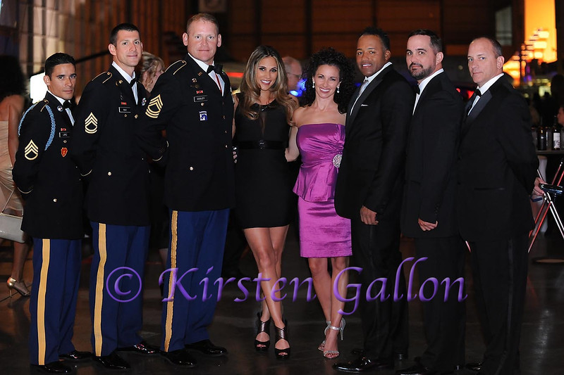 SKY BALL 2013<br /> Staff Sgt. John Lopez, Sgt. 1st Class Ryan Ray, Mst. Sgt. Charles Cooley, Bonnie-Jill Luflin, Hollie Higgins, Sgt. 1st Class Ret. Mike Elliot, Sgt. 1st Class Ret. Todd Porter, Sgt. !st Class Ret. David Herwiz