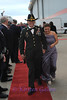 SKY BALL 2013 <br /> Specialist James Martin and his wife Misty walk the red carpet into the VIP tent.