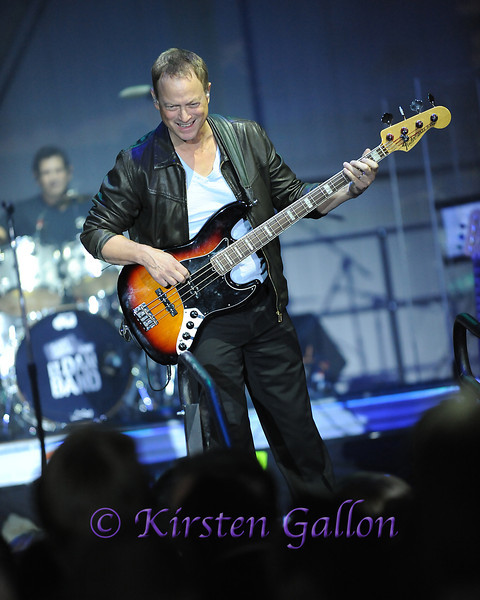 Gary Sinise and his Lt. Dan Band provided the night's main entertainment.