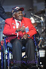 SKY BALL 2013 <br /> One of the remaining Tuskegee Airman, Calvin Span, greets the crowd.