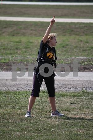 Heather  Cochrane  after her jump