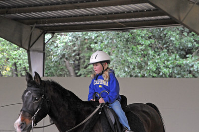 Skye Riding Lesson 11-23-10