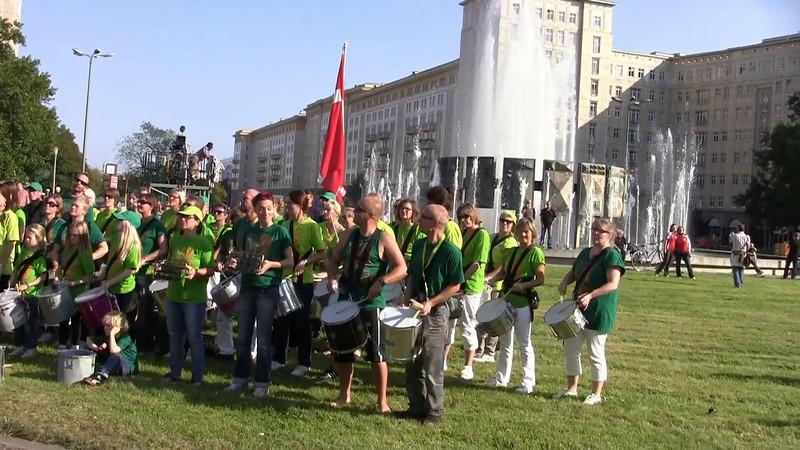 Slagkraft in Berlin 2011 - Inlineskaters marathon