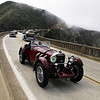 A 1929 Mercedes-Benz SSK Carlton Two-Seat Sports car owned by Evert V.N. Louwman, drives over the historic Bixby Birdge on Highway One during the Pebble Beach Tour d' Elegance on Thursday morning. The bridge was built just three years after the classic car was made. The tour was initiated to showcase the elegance of the automobile in motion and was attended by hundreds of camera toting spectators gathered along the scenic roadway. <br /> <br /> <br />  Photo taken on 8/13/09 in  Salinas.<br /> Photo by Richard Green <br /> 0813_THEPEBBLEBEACHTOURD'ELEGANCE_5398<br /> <br /> Camera data: 8/13/09 at 10:10:58 AM, ISO 400, 1/400 @ f/14, WB=, 28mm, , , frame 5398