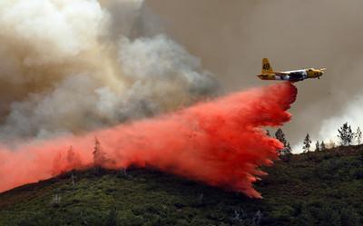 Basin Complex Fire Thursday