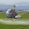 Ag Monday helicopter crop spraying