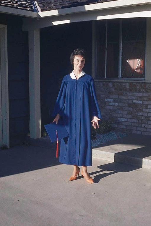 Special occassion - Robin graduates.