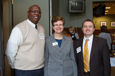 Jabron Webster, Lisa Elkin and Brendan Farrell