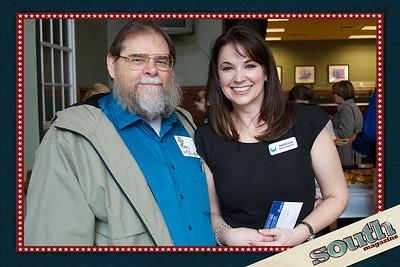 Bob McAlister and Amanda Cashi