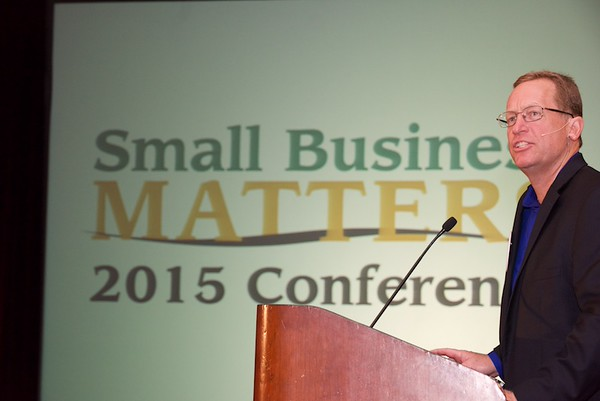Small Business Matters Conference at Cobb Galleria.