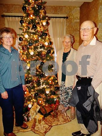 Rita DeWall, Marjorie Alliger, and Arlen Hirsch