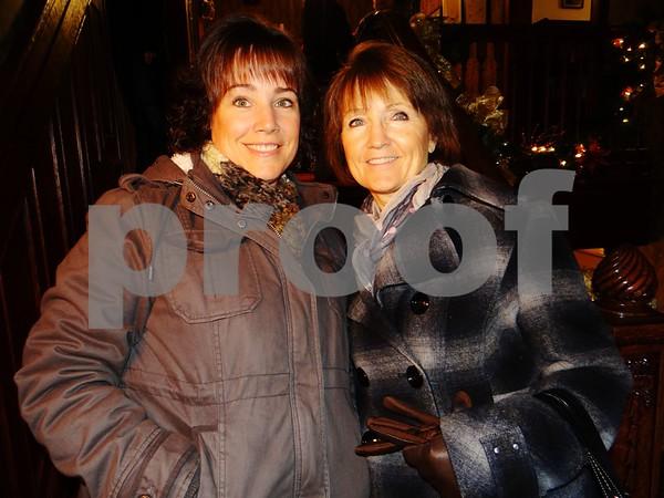 Sarah Neverman and Mary Lynn Biggins