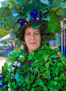 Amelia Exotica Flora Dana of the University of Florida spreads awareness of invasive species