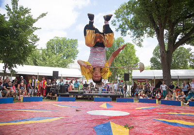 Hebei Golden Eagle Acrobatic Troupe, Smithsonian Folklife Festival (2017)
