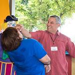 Jeff Raz, clown, Smithsonian Folklife Festival (2017)