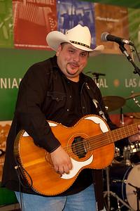 Israel Villanueva (aka Speedy Vee) of Los Texmaniacs