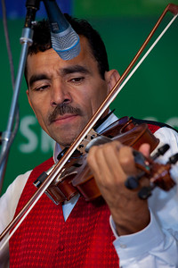 Trinidad Lovo of Chanchona Los Hermanos Lovo (music of El Salvador)