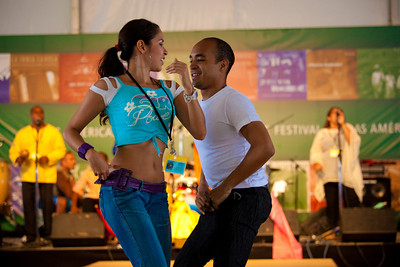 Mariajandra Orozco and Ronald Rodriguez of Venzuela