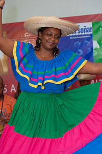 "Gladys ""Titi"" Bazan from Columbia, a member of Currulao Las Cantadoras del Pacifico"