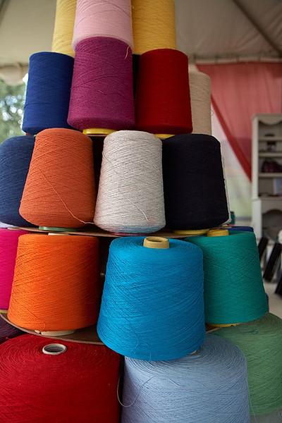 Cashmere threads.