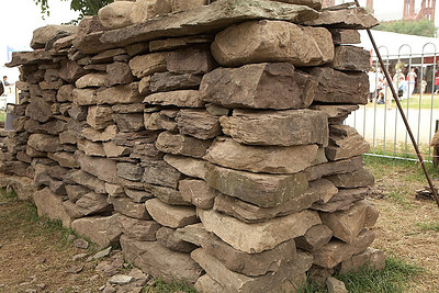 Stone walls by Stuart Fry.