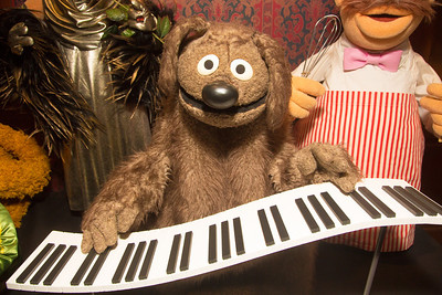 Rowlf, a puppet created for Purina Dog commercials in 1960 later became a Muppet Show character.
