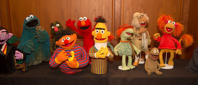 Muppets on display