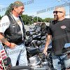 Gary Vertucci and Mike Masterpolo chat before the ride