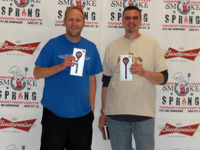 Smoke in the Spring State BBQ Championship, Osage City, Kansas, April 8, 2017 - Awards presentation