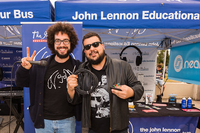2017_09_30, Brooklyn, NY, Smorgasburg, audio technica, Gabe Smith, giveaway winner