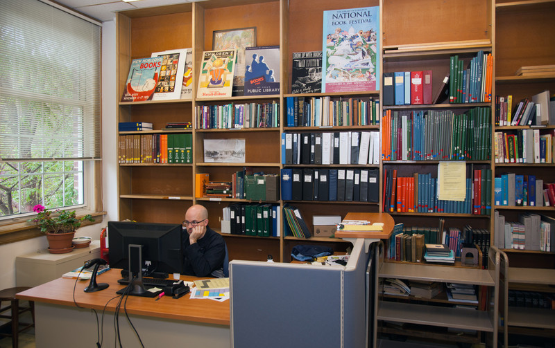 SILS Library office