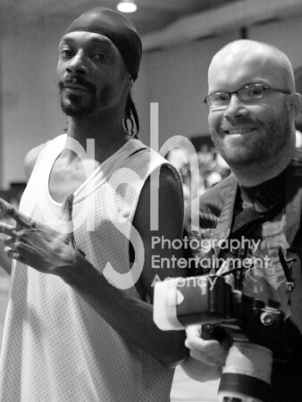 Snoop Dogg and Photographer James Irwin