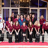 Members of the Schreiner University Choir provide valet services to Snow Ball attendees.