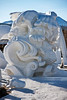 Snow Carving Fish 7 Waves