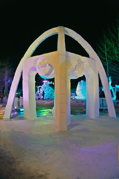 Snow Carving Night Light